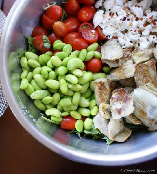 Toasted Corn, Cherry Tomato, And Edamame Salad Recipe ...