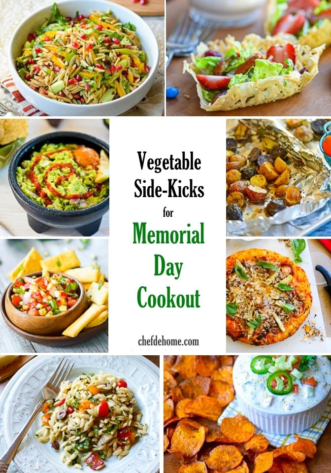 Easy recipes for cookouts