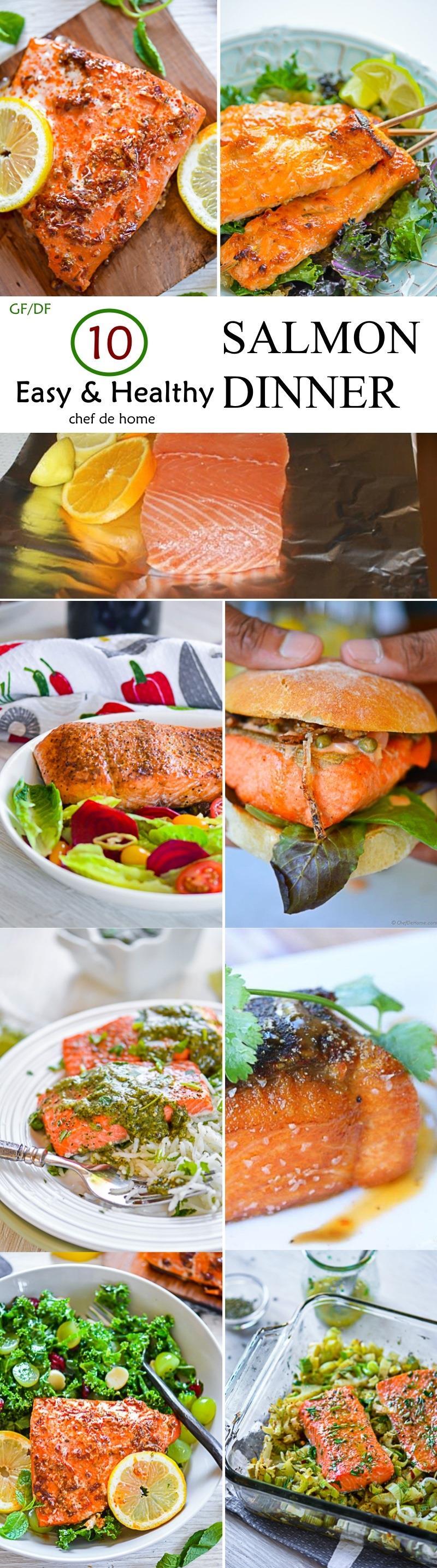 Healthy easy salmon recipes