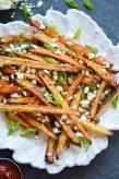Chipotle Seasoned Crispy Baked Potato Fries