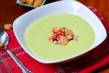 Chilled Avocado and Roasted Corn Soup