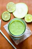 Go Green - Apple, Mint, and Coconut Milk Smoothie