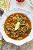 Slow Cooker Turnip, Kale and Lentil Soup
