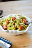 Pasta with Basil and Pistachio Pesto