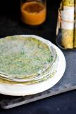 DIY | Freezer Ready Spinach Flat Bread | Indian Palak Roti