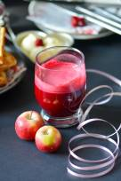 Ginger Spiced Beet Root and Apple Juice