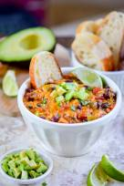 Easy Crock Pot Mexican Cheese Dip