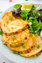 Smoked Chicken Quesadillas