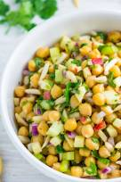 Apple Chickpea Salad