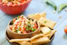Chili Lime Roasted Corn Salsa