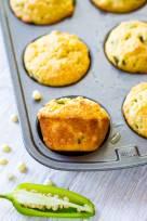 Jalapeno Cornbread Muffins