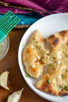 Homemade Restaurant-Style Indian Garlic Naan