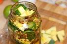 Raw Mango and Serrano Pepper Pickle