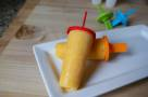 Peach and Yogurt Lollies