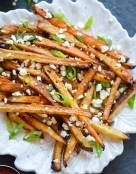 Chipotle Seasoned Crispy Baked Potato Fries