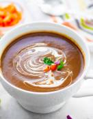 Spicy Black Bean Soup (Instant Pot)
