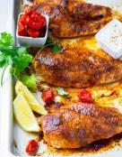 Blackened Chicken (Baked, Grilled, Or Cooked in Skillet)