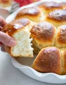 Soft No-Knead Dinner Rolls