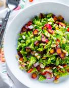 Winter Detox Healthy Broccoli Salad