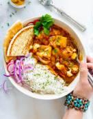 Butternut Squash Curry with Tofu