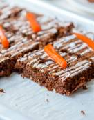 Gluten Free Moist Chocolate Carrot Cake