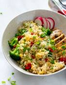 Chicken Broccoli Rice (Instant Pot)