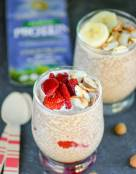 Sunwarrior Protein Review   Chocolate Almond Chia Breakfast Pudding