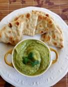 Spicy Cilantro Chickpea Hummus