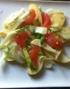 Fennel and Apple Salad with Grapefruit Vinaigrette
