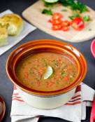 Easy Vegan French Lentils Soup in Pressure Cooker