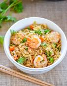 Spicy Shrimp Fried Rice