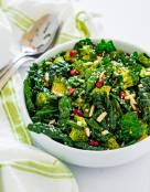 Emerald Kale Broccoli Salad
