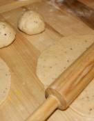 Black Pepper Spiced Flat Bread