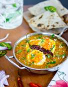 Easy Indian Kolhapuri Egg Curry