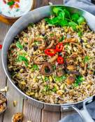 Mujaddara - Spiced Lentils and Rice