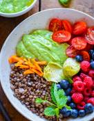 Healthy Summer Glow Lentil Salad