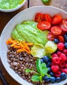 Healthy Summer Glow Lentil Salad