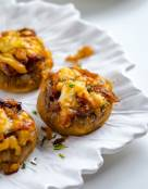 French Onion Stuffed Mushrooms