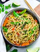 Spicy Soba Noodles Vegetable Stir Fry