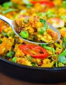 Indian Punjabi Paneer Bhurji