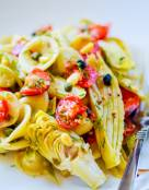 Roasted Fennel and Artichoke Pasta Salad
