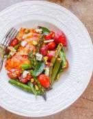 Oven Roasted Asparagus and Ravioli Pasta Salad