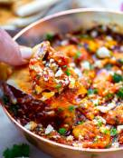 Shrimp Saganaki - (Shrimp, Tomato and Feta Dip)