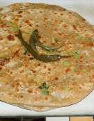 Spiced Scallion Flat Bread