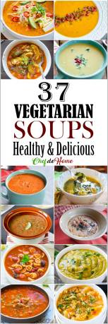 37 Vegetarian Soup Recipes