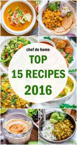 15 Top Recipes Year 2016