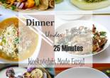 Weeknight Dinners in 25 Minutes or Less
