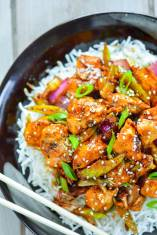 Chinese Black Pepper Chicken