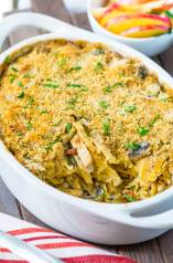Turkey Tetrazzini with Mushrooms