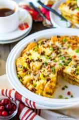 Spiced Breakfast Egg Casserole